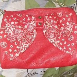 LIMITED EDITION Betsey Johnson Handbag